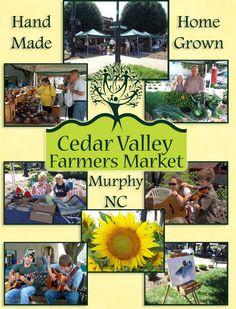 Cedar Valley Farmers Market,  Murphy NC