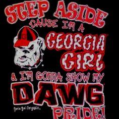 Georgia Girl!