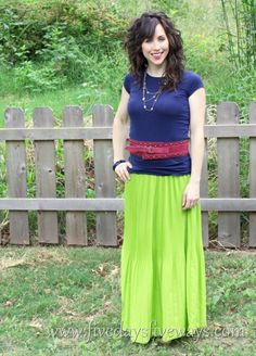 1 hour maxi skirt
