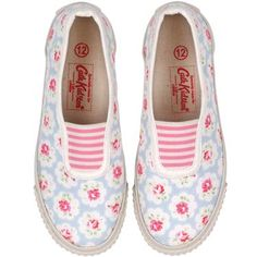 Cath Kidston sneaks. Adorable! I want a pair!
