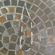 Gray Pearl Double Strand Necklace (Set) on Etsy, $35.00
