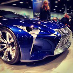#Beauty. #Lexus LF-LC