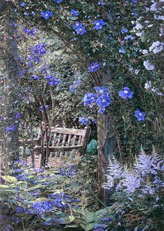 pinturas-realistas-al-oleo-paisajes-con-flores