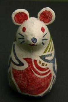 真工藝 真工藝 鼠 Mouse stuffed toy Japanese Kids, Japanese Colors, Pretty Dolls, Beautiful Dolls, Daruma Doll, New Year Art, Japan Crafts, Traditional Toys, Kokeshi Dolls