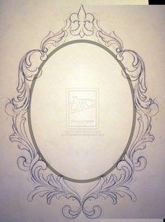 Ornate Oval Frame Drawing | tumblr_moqpxs5Yqa1s77wr7o1_500.jpg
