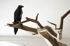 Cardboard creations by Bartek Elsner