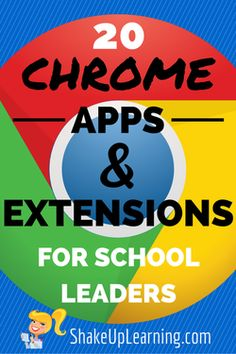 As leaders, it is important to model the tools and strategies you want to see in the classroom. So whether you are just jumping in or an avid Google user, I hope these lists can help you further your skills.