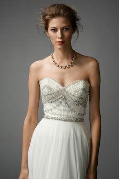 Watters Brides Gracia Skirt