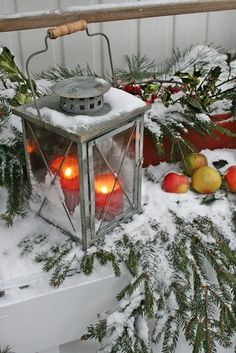 33 Stunning Winter Lanterns For Your Outdoor Decoration Christmas Scenes, Noel Christmas, Country Christmas, Outdoor Christmas, Christmas And New Year, All Things Christmas, Winter Christmas, Canadian Christmas, Christmas Goodies