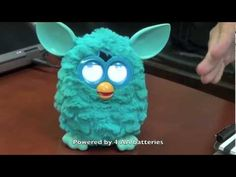 Furby is back! In an interesting design choice, Hasbro opted to replace Furby's classic white eyes with LCDs. Furby 2.0 has the ability to communicate with other Furbys. There's even a Furby iOS app, which sends inaudible sound codes to the toy.
