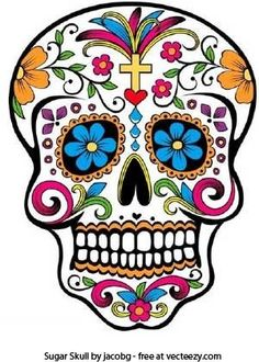 Day of the Dead skull by jacobg