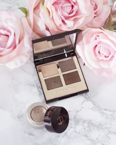 Charlotte Tilbury Golden Goddess Palette and Eyes to Mesmerise in Marie Antoinette | What's in My January Makeup Bag | My Laura Life