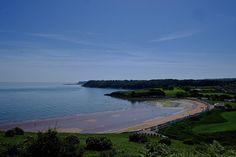 The broad sweep of Broadsands beach, Broadsands, Devon.