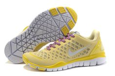 Nike Free Tr Fit Yellow Women Shoes Sale: $65.82