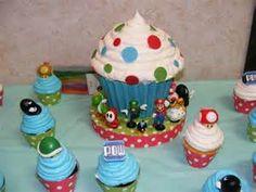 simple diy mario cake - Bing images