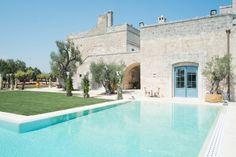 Dream luxury villa in Puglia Southern Italy - Italian Allure Travel Italy House, Puglia Italy, Southern Italy, Country Estate, Luxury Villa, Home Projects, Swimming Pools, Mansions, Architecture