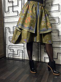 Bali New Wave Skirt, bohemian skirt, made of ethnic cotton.