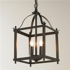 Bring home a traditional silhouette with arched brackets and appointed finials. Hang this mini pendant light over a counter as a pendant light or tight to the ceiling as a semi flush mount in a hallway. Brushed Nickel or Bronze with no glass to clean! Lantern Light Fixture, Lantern Pendant Lighting, Kitchen Pendant Lighting, Mini Pendant Lights, Light Fixtures, Light Pendant, Chandeliers, Kitchen Lighting Over Table, Kitchen Tables