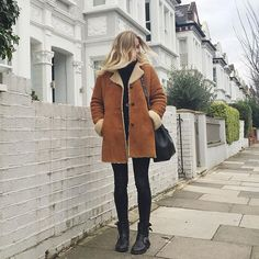 Sheepskin and bikers for a Sunday stroll