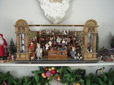 DSCN3705 by jerrygarnold, via Flickr...German antique store with miniature toys.