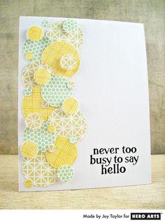 Card by Joy Taylor #HeroArts