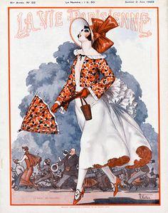 Armand Vallée (1884-1960). La Vie Parisienne, 2 Juin 1923. [Pinned 27-iii-2015]