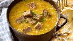 Steckrübensuppe #soup #meat #carrots #yummy #food #fotd