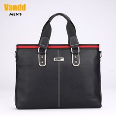 Aliexpress.com : Buy Vandd Men's Horizontal Black Genuine Leather Horizontal Tote Handbag Briefcase Top Zip Shoulder Messenger Bag Designer New from Reliable man fashion bag suppliers on Vandd Men. $35.31