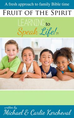 Simple, easy to use family devotional to help parents teach their kids about the fruit of the spirit.