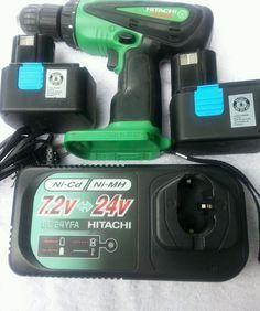 "Hitachi 14.4 Volt Cordless Reversible Driver/Drill w/ 1/2"" Drive Model #DS14DVB"