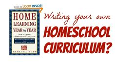 An extremely important book if you plan to write your own homeschool curriculum