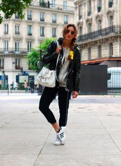 Vu sur le blog La Revue de Kenza, la veste imperméable VERGLA Sud express.
