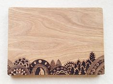 Woodburning Cutting Boards by Tomomichi Suzuki