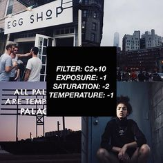 VSCOCAM Filter: C2+10|Exposure: -1|Saturation: -2|Temperature: -1 - Similar to hypebeast preset. Works well with everything! Use the link on my bio to get all the filter for free! #vsco#vscocam#vscofilter