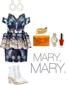 """mary, mary."" by sarah-k-king on Polyvore"
