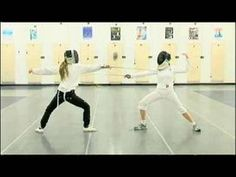Foil Fencing Attacks : How to Riposte in Foil Fencing - YouTube