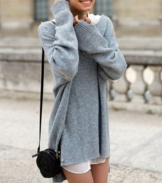 the oversized cashmere pullover