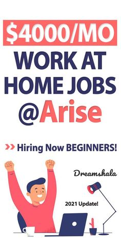 Arise Work From Home Review – A Scam or A Legit Online Job? #ariseworkfromhomejobs #arisereview #ariseworkfromhomereview #workfromhomejobs #callcenterjobs #customerservicejobs #onlinejobs #sidejobs #sidehustles #virtualcallcenterjobs #workathomejobs #dreamshala #extramoneyideas Arise Work From Home, Work From Home Careers, Legitimate Work From Home, Make Money From Home, Make Money Online, How To Make Money, Er Jobs, Customer Service Jobs, Legit Online Jobs