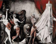Danse Macabre by Santiago Caruso Danse Macabre, Art Macabre, Hp Lovecraft, Creepy Art, Scary, Art Sombre, Dance Of Death, New Nightmare, Arte Obscura
