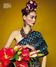 Frida inspired fashion