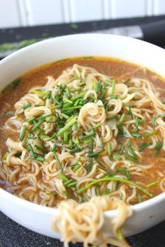 Homemade Ramen (without the flavor packet) Ramen Recipes Soup Recipes, Vegetarian Recipes, Dinner Recipes, Cooking Recipes, Healthy Recipes, Top Ramen Recipes, Ramen Noodle Recipes Homemade, Vegetarian Ramen, Ramin Noodle Recipes