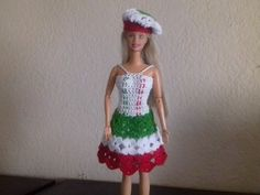 vestido mexicano para Barbie