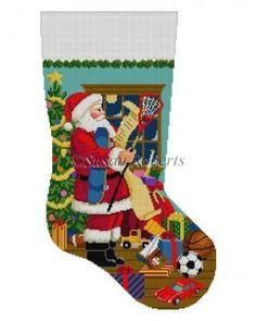 Santa Decorating Toy Tree   Christmas Stockings   Pinterest ...