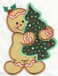 Holly Jolly Gingers Applique