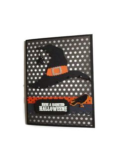 Witch Hat Halloween Card Halloween Cards