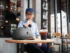 kumoa Leather visor / Black  クモア レザーバイザー/ブラック
