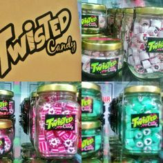 twisted candy hand-made personalized sweets halloween christmas giveaway sm north quezon city Personalised Sweets, Christmas Giveaways, Eat To Live, Halloween Christmas, Candy, Handmade, Hand Made, Personalized Candy, Sweets