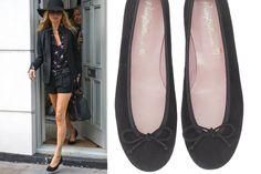 Kate Moss divina completando su look con Pretty Ballerinas!Nos encanta!!! #prettyballerinas #KateMoss