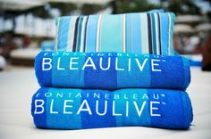 FountaineBleau towels #lookingglam #bleaulive Photo Credit: Brian Friedman for iHeartRadio