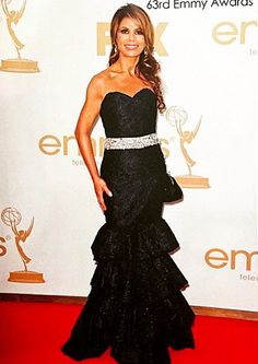 Paula Abdul in Simin Couture at the Emmy's